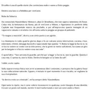 ORDINA ORA  <br> Io sono Massimiliano Minnocci <br> La vera storia del Brasiliano <br>