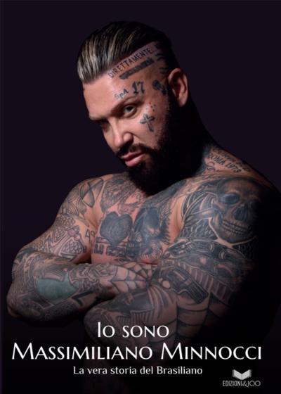 copertina libro io sono massimiliano minnocci la vera storia del brasiliano